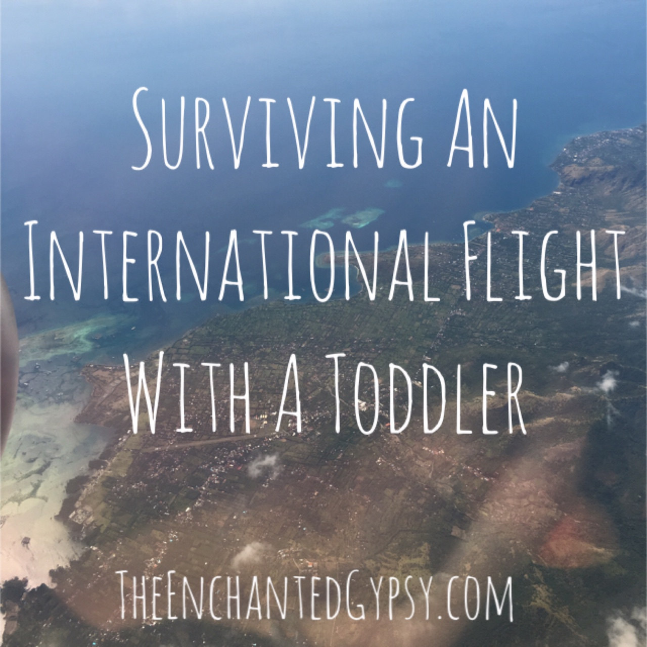 long flight with toddler