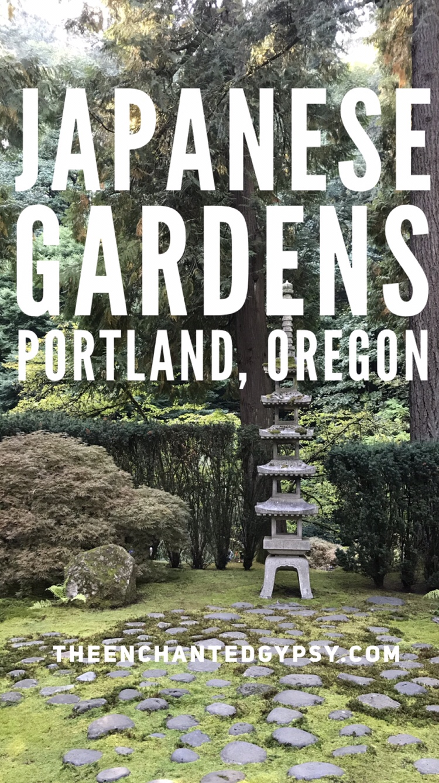 Japanese Gardens Portland, Oregon www.TheEnchantedGypsy.com