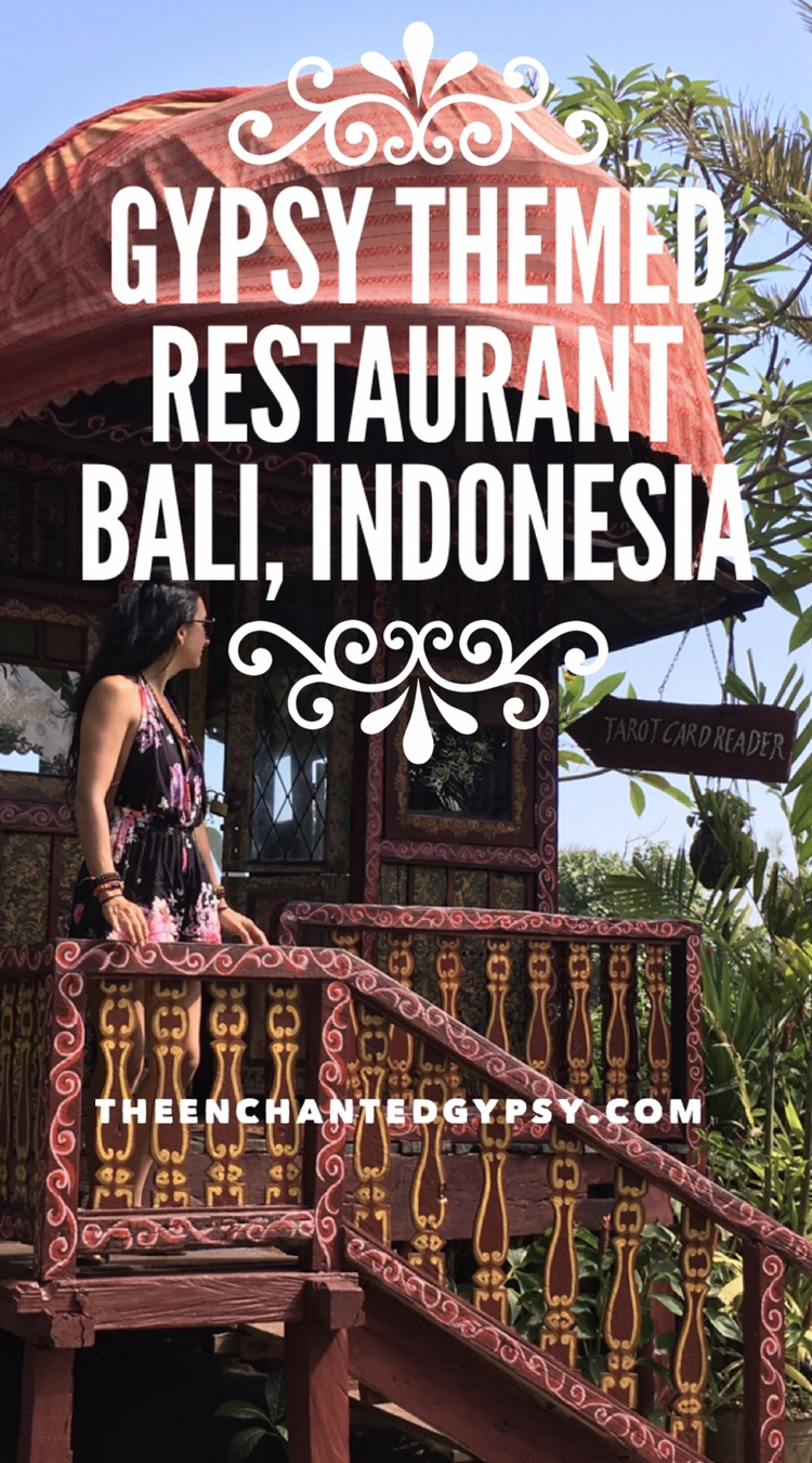 La Laguna, Gypsy themed restaurant in Bali, Indonesia www.TheEnchantedGypsy.com