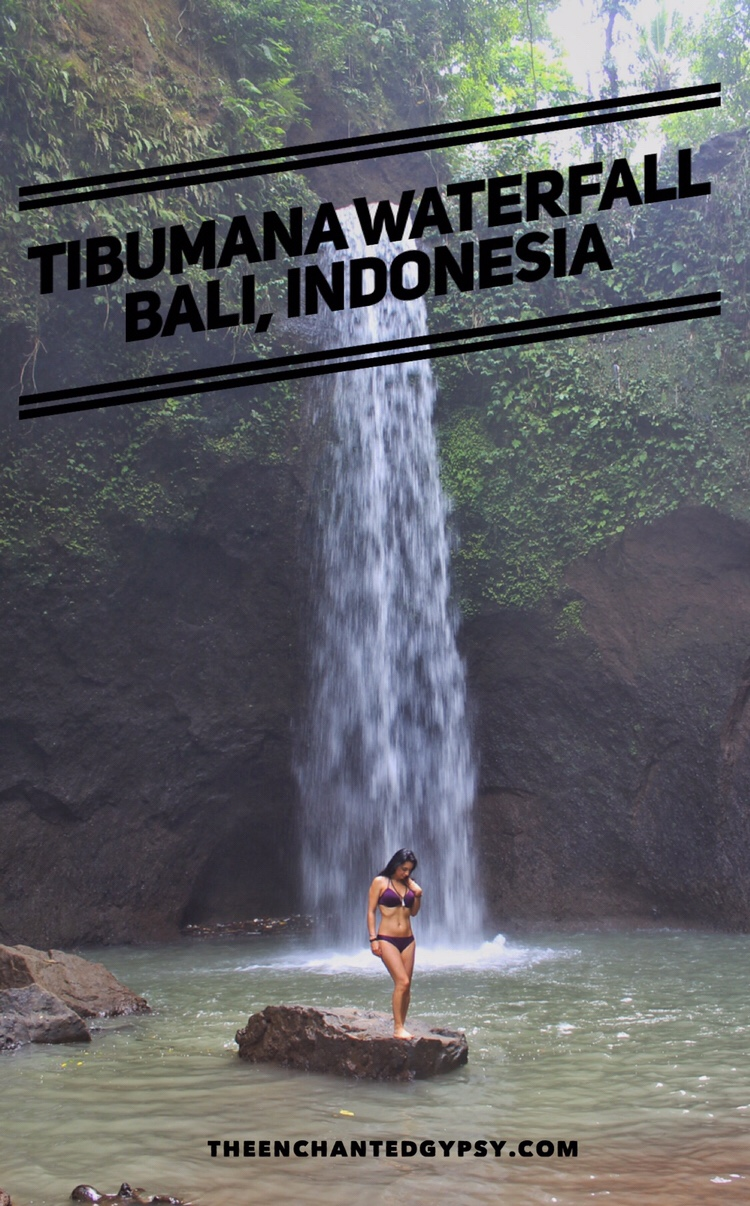 Tibumana Waterfall Bali, Indonesia www.TheEnchantedGypsy.com