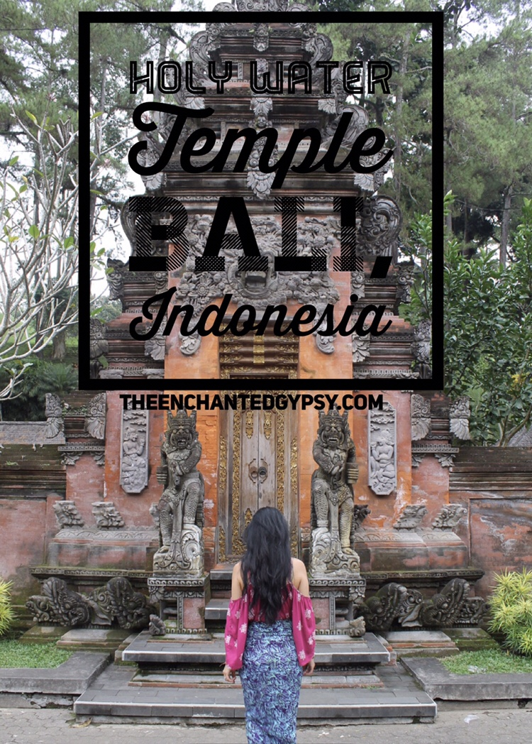 Holy Water Temple Tirta Empul Bali, Indonesia www.TheEnchantedGypsy.com