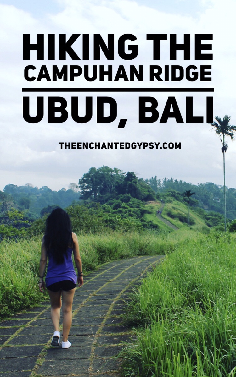 Hiking The Campuhan Ridge in Ubud, Bali www.TheEnchantedGypsy.com